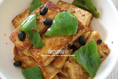 家常豆豉烧豆腐