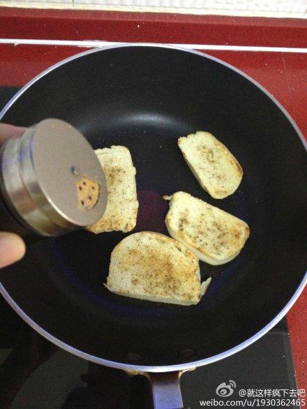 平底锅烤馍片的做法步骤
