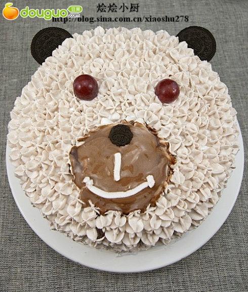 小熊生日蛋糕的做法_【图解】小熊生日蛋糕怎么做如何