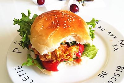 无油健康汉堡(中种法)