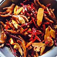 姜辣凤爪的菜谱_美食_豆果做法羊葱炒面腊肉图片