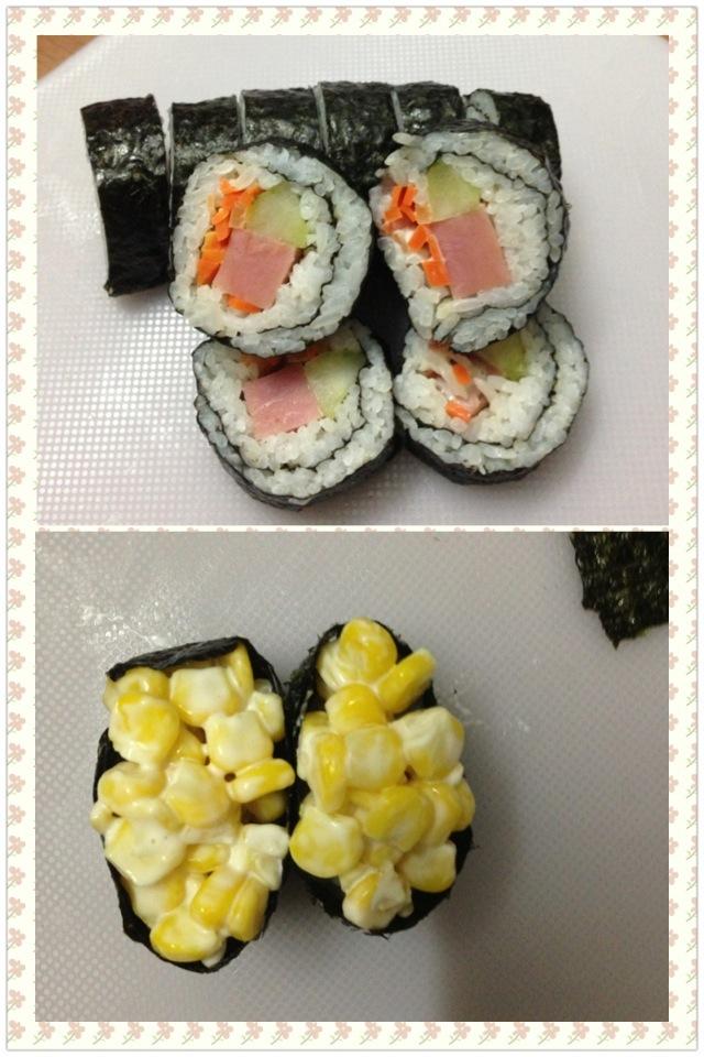 爱心便当寿司的做法图解6