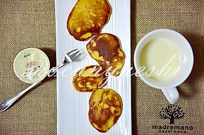 粗粮时代的首选 ---牛奶玉米饼
