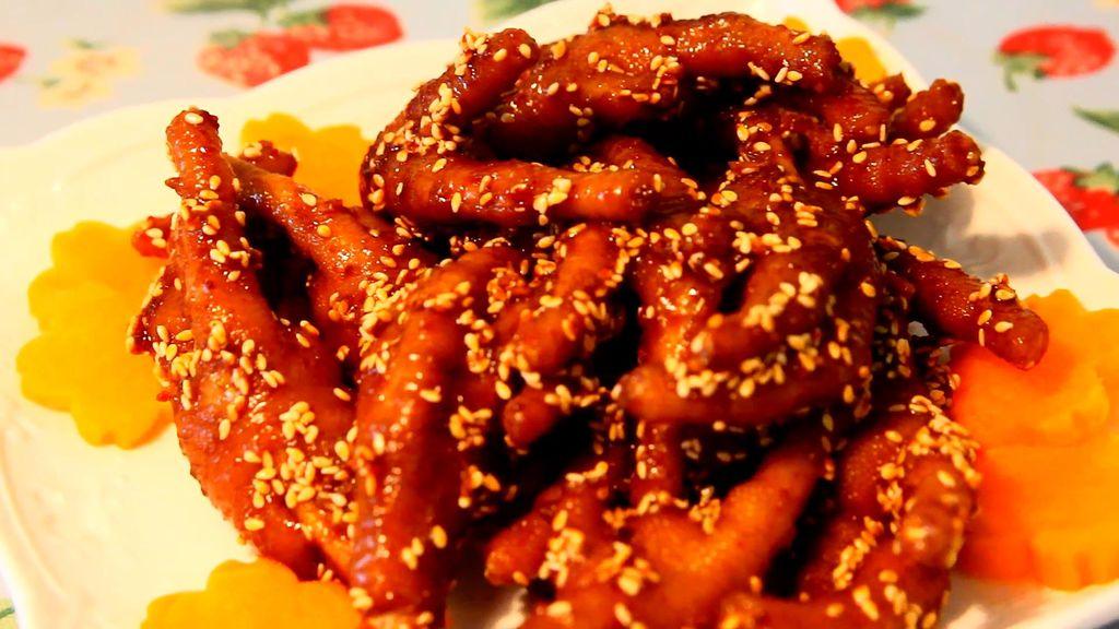 玉涛辣鸡爪的婴儿_菜谱_豆果美食做法能喝排骨汤崔韩式图片