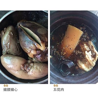 大卤锅(猪心猪腰五花肉食谱鹌鹑鸭蛋蛋)的鸡蛋v食谱做法孕期备图片