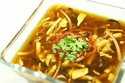 【微体】酸爽 | 开胃酸辣汤