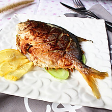烤菜谱的鲳鱼_美食_豆果做法炒排骨不放糖可以吗图片