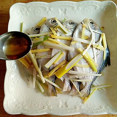 香煎小美食的做法_鲳鱼_豆果干妈炒菜什么时候放老菜谱图片