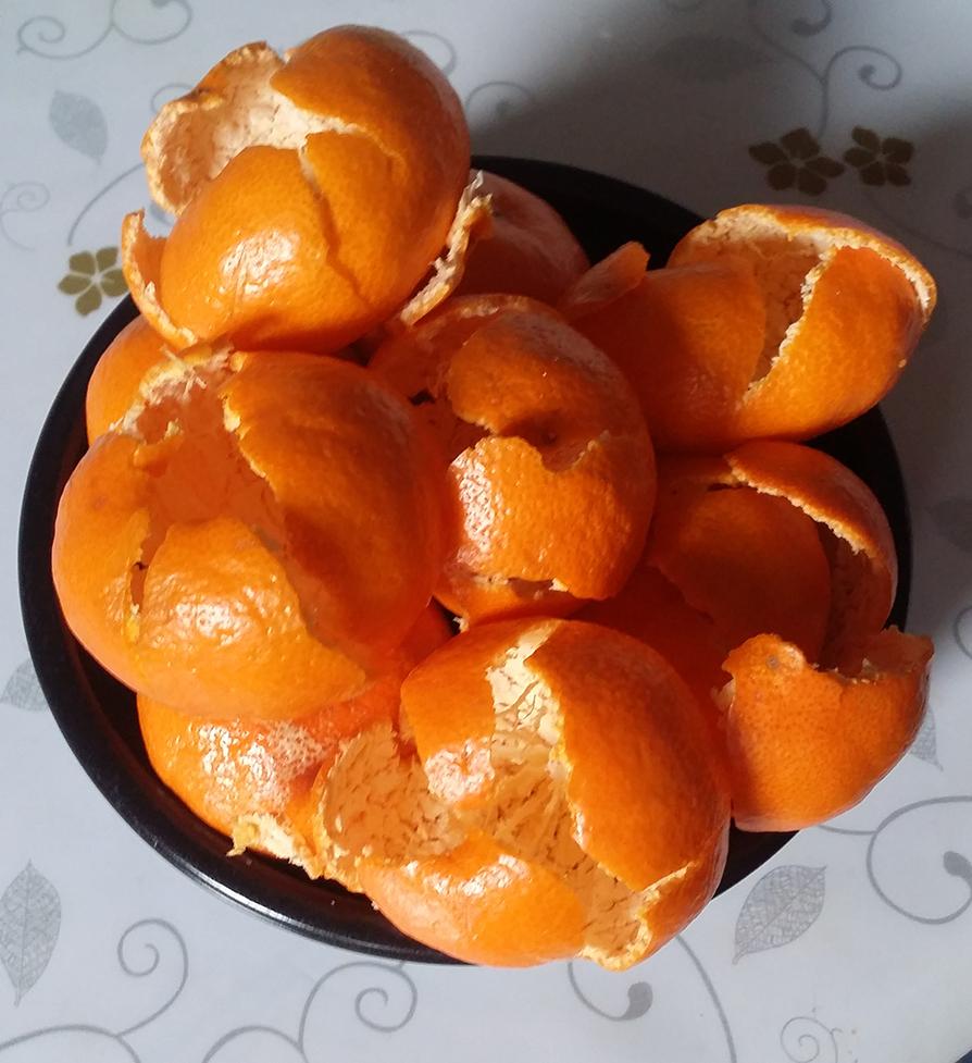 自制陈皮(橘子皮)的做法步骤