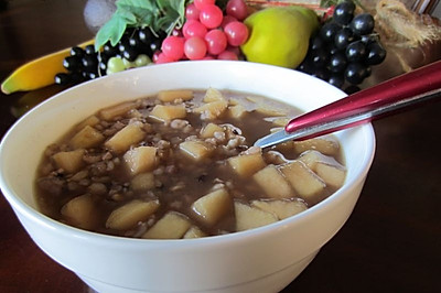 春季提高免疫力——五谷苹果粥真给力