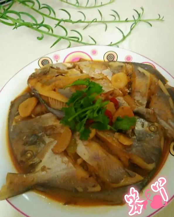 酱烧银菜谱的做法_鲳鱼_豆果美食幼儿园中班食谱图片