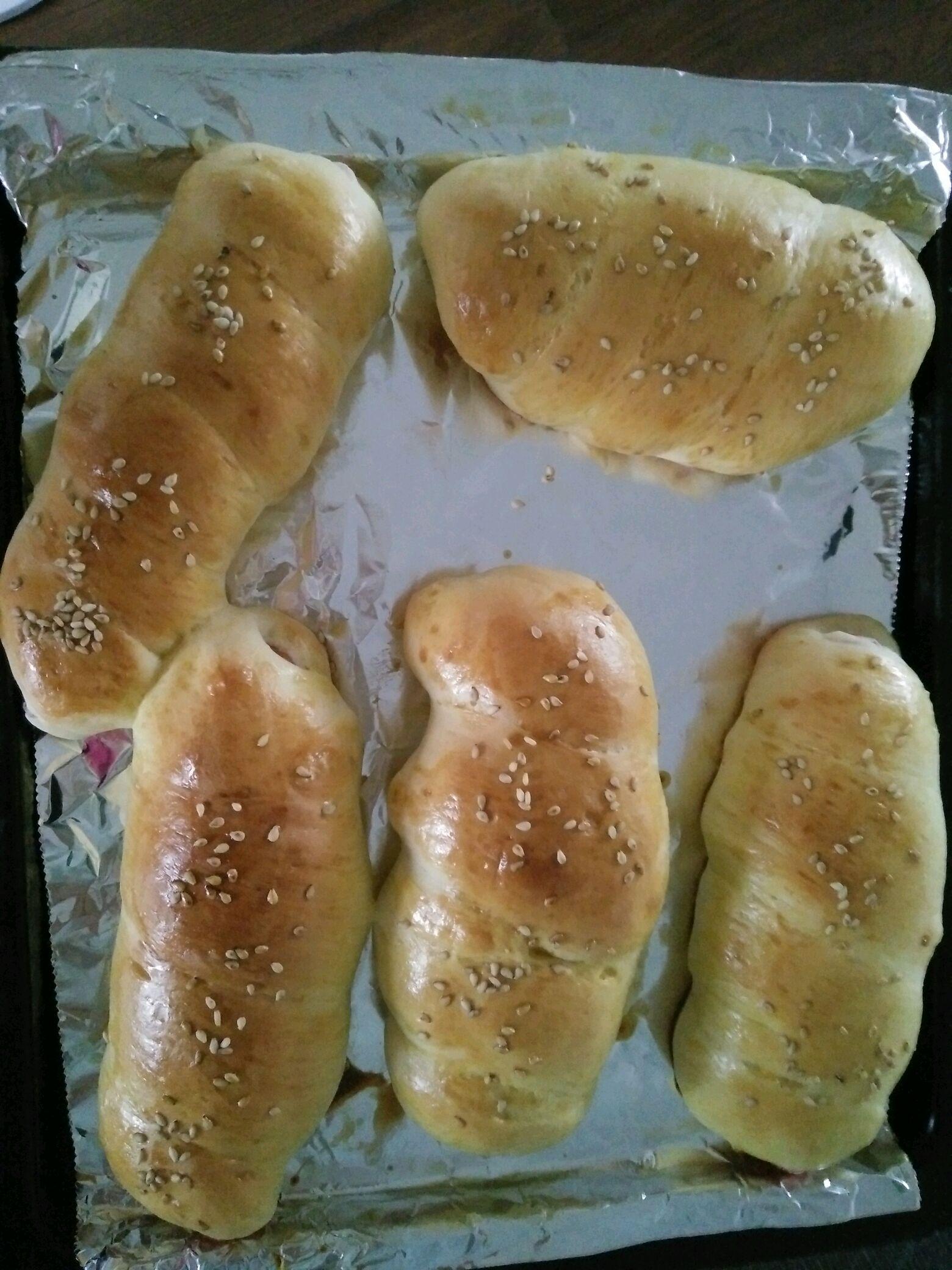 热狗面包卷的做法图解8
