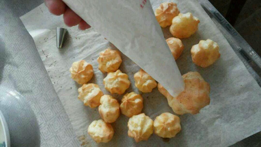 奶油泡芙的做法图解5