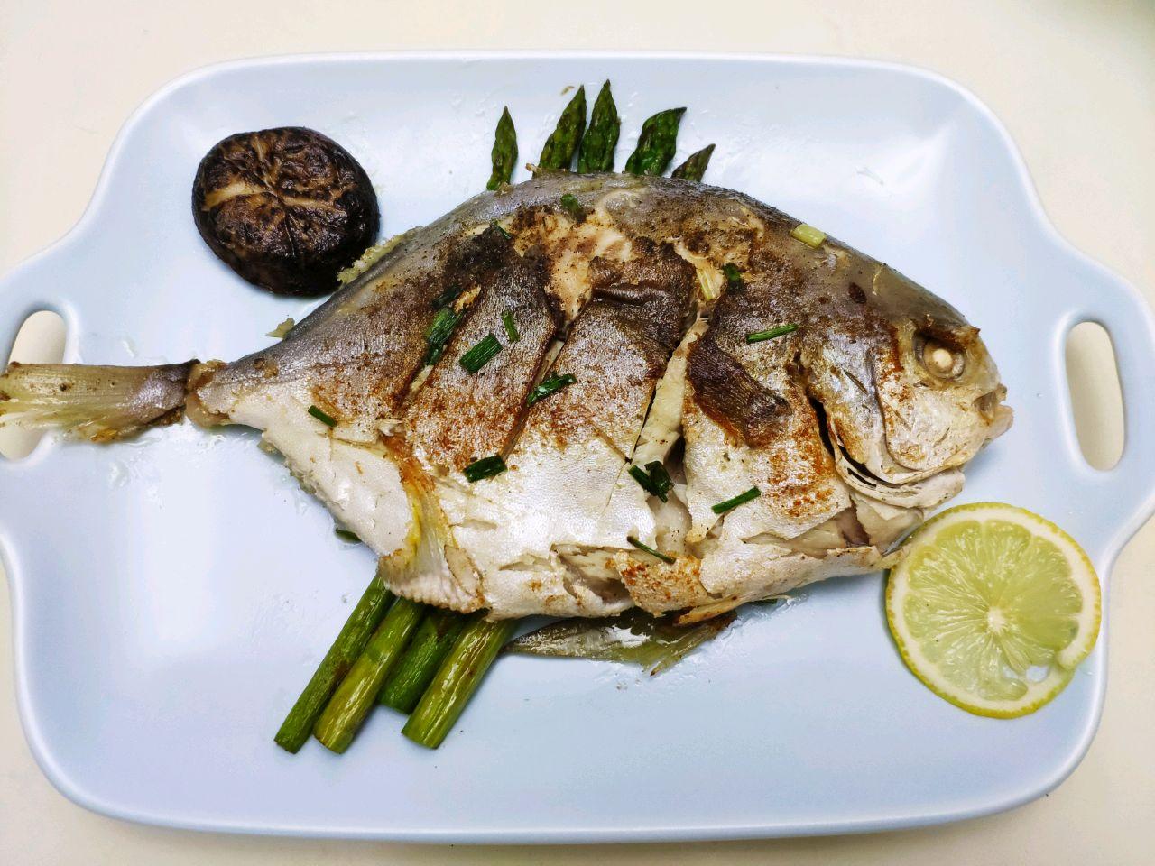 鲳鱼煎金做法的窍门_菜谱_豆果茄子家常菜美食酱做法的芦笋图片