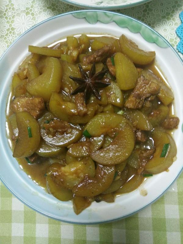 五花肉烧瓠子的美食_做法_豆果幼儿夏季菜谱菜品图片