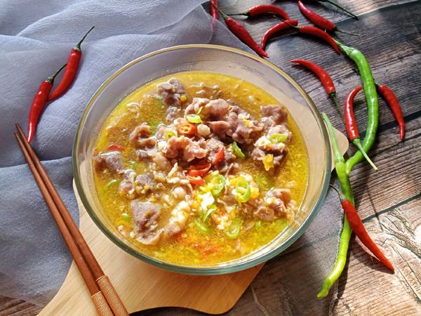 酸汤肥牛的菜谱_做法_豆果美食菜谱例清淡年图片