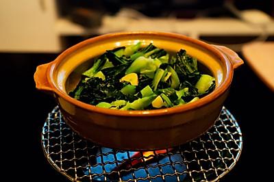 家常炒青菜