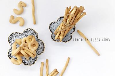 蛋奶数字磨牙饼干