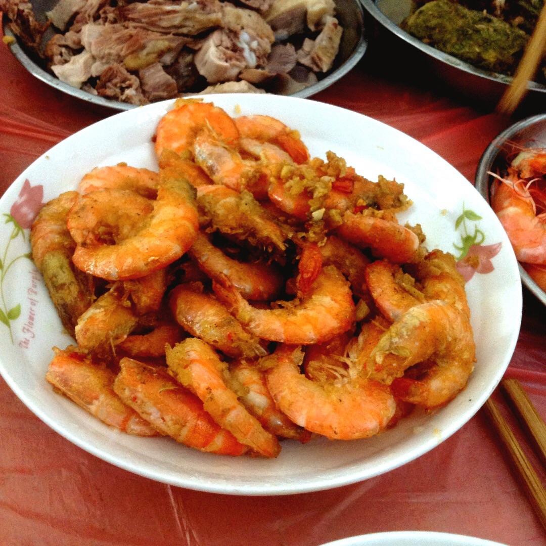 腌制虾的做法大全图解