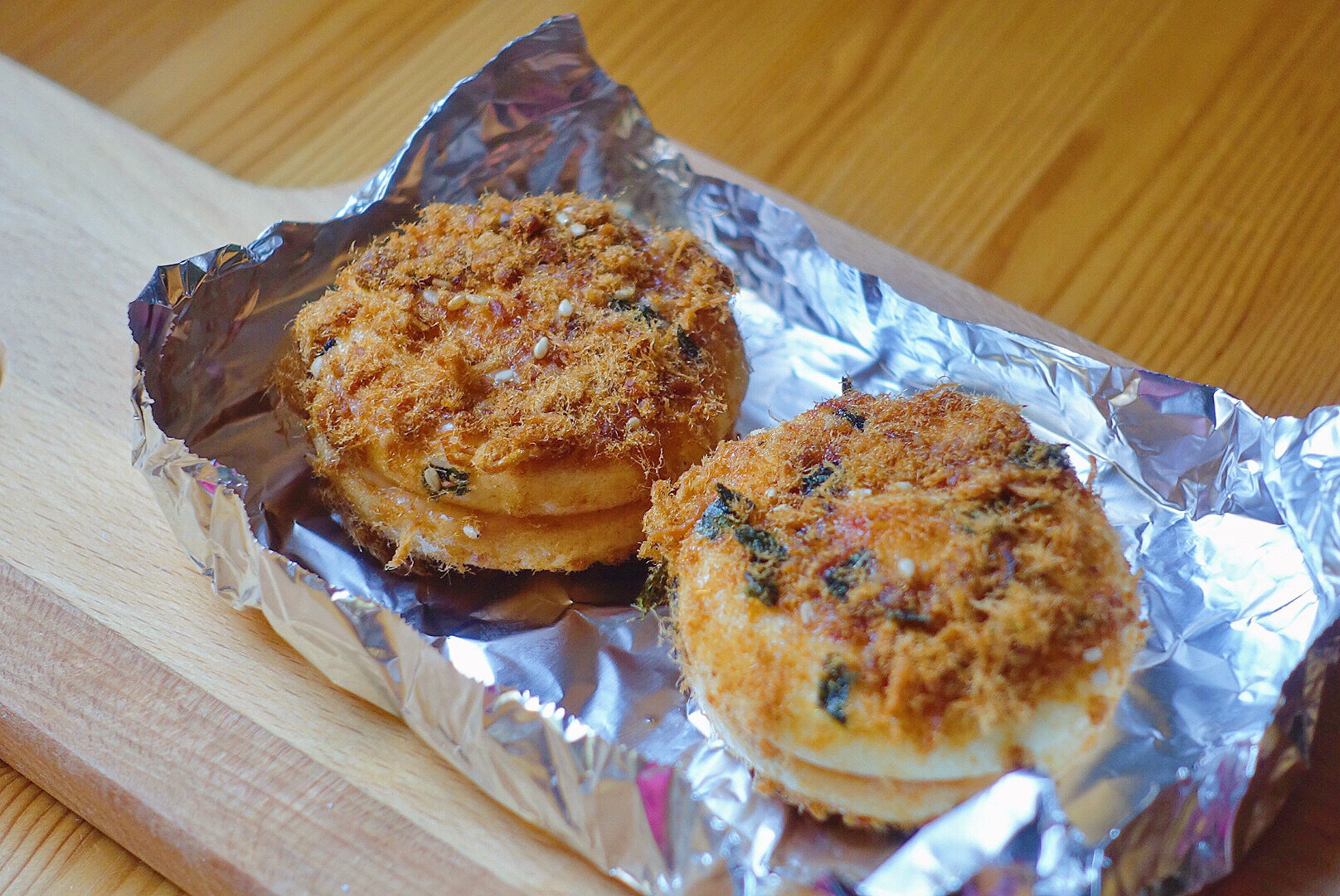 肉松小贝燕麦片放烤箱里烤图片