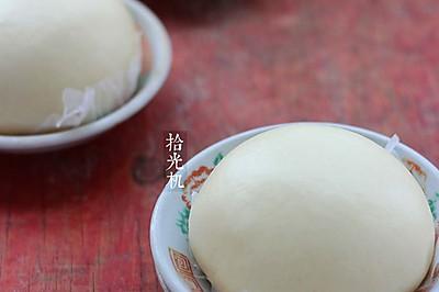 白馒头的快速制作方法(一次发酵法)