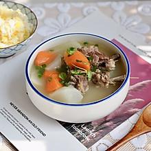 萝卜羊排骨汤#肉食者联盟#