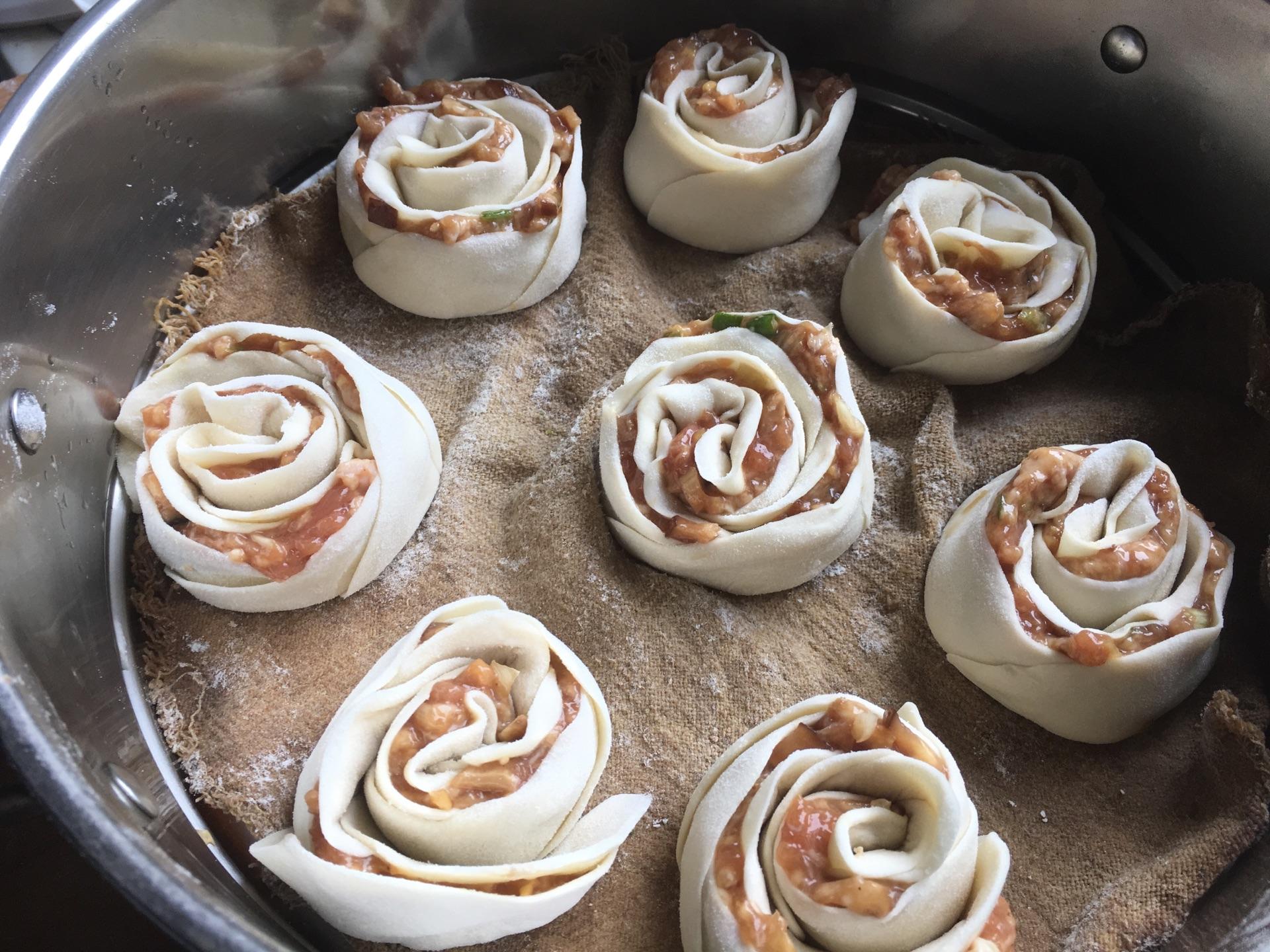 玫瑰花饺子#太太乐鲜鸡汁中式#的做法图解12