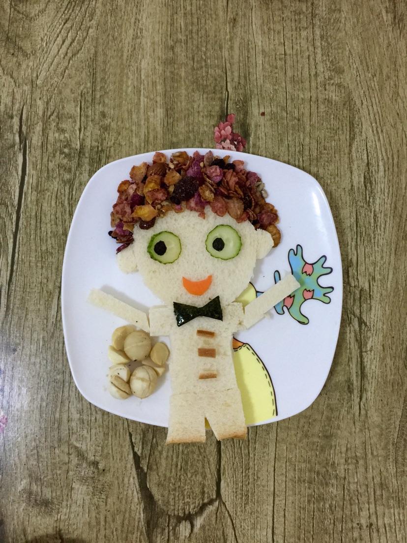 创意儿童早餐的做法图解19