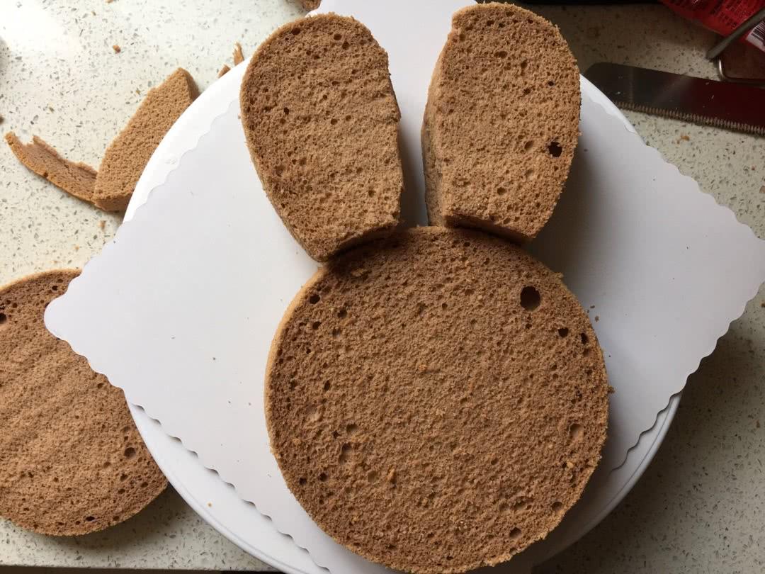 小兔子奶油蛋糕