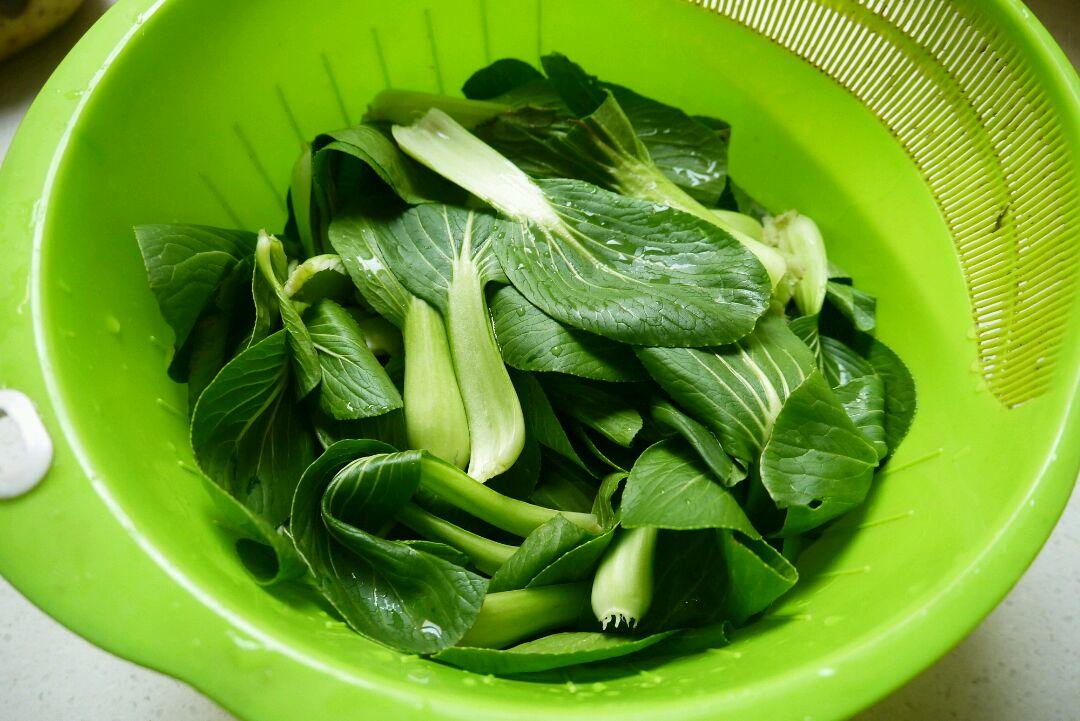 蚝油小青菜的做法步骤