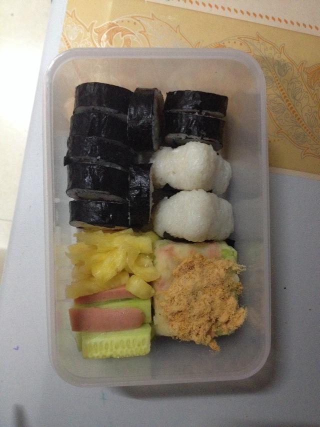 寿司的向日葵做法图解