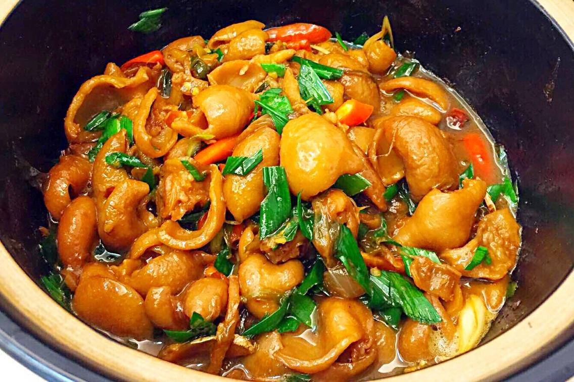 砂锅肥肠的做法_【图解】砂锅肥肠怎么做如何做好吃