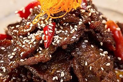 陈皮牛肉:四川经典凉菜