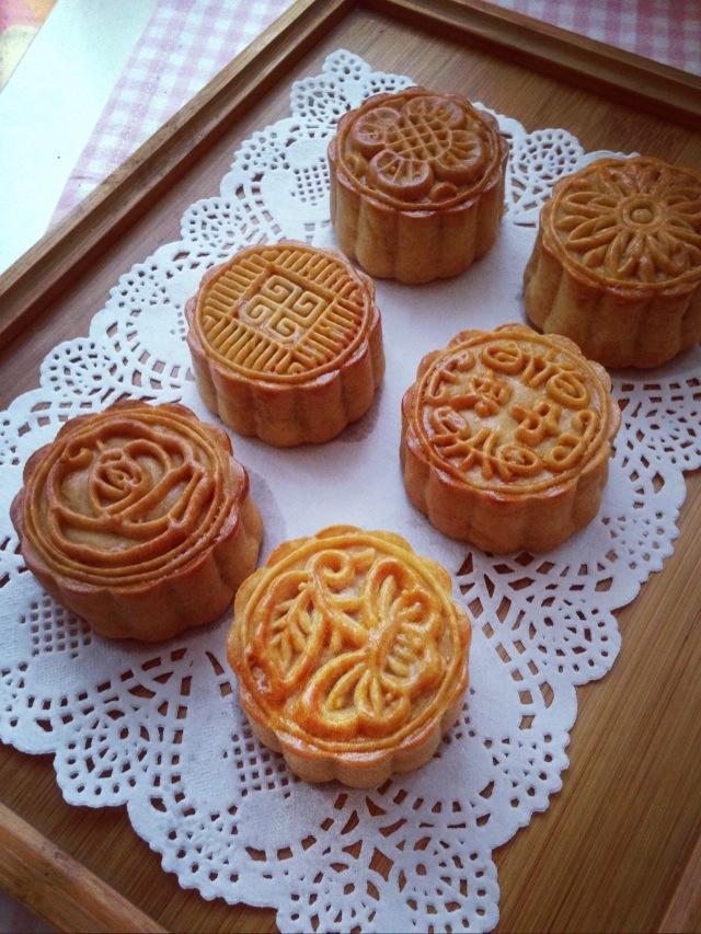 金丝椰皇馅月饼的做法图解9