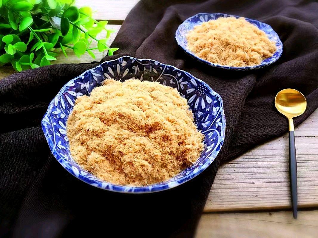 面包机版豌豆猪肉松耙菜谱棉花图片