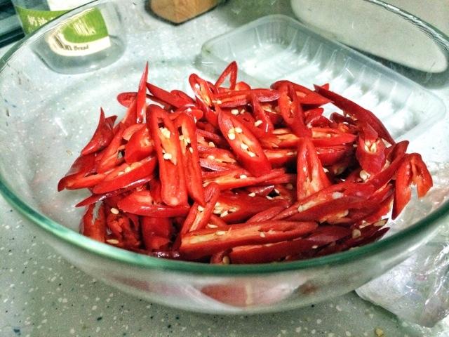 辣椒炒肉的做法步骤 5.