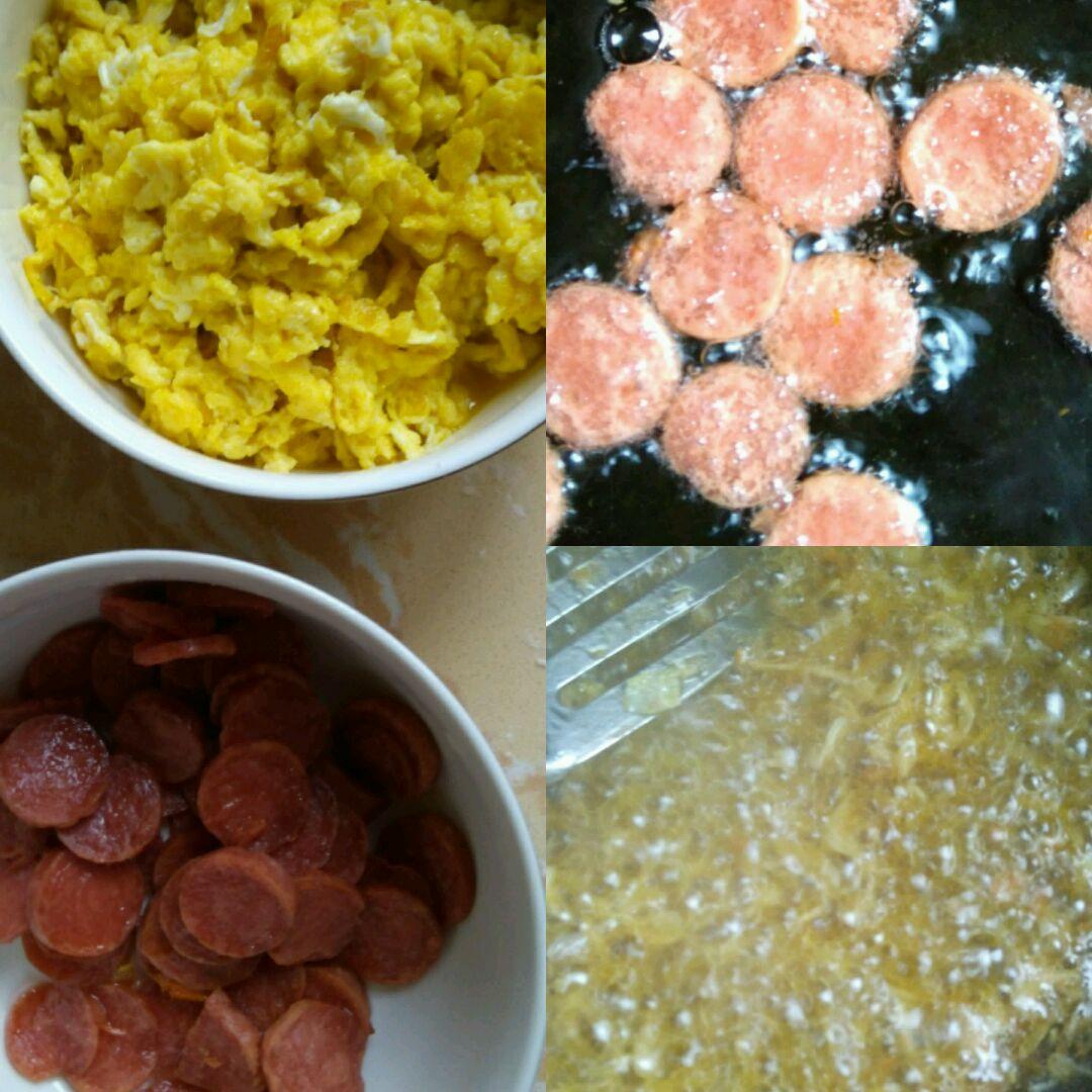 蛋炒饭的做法步骤