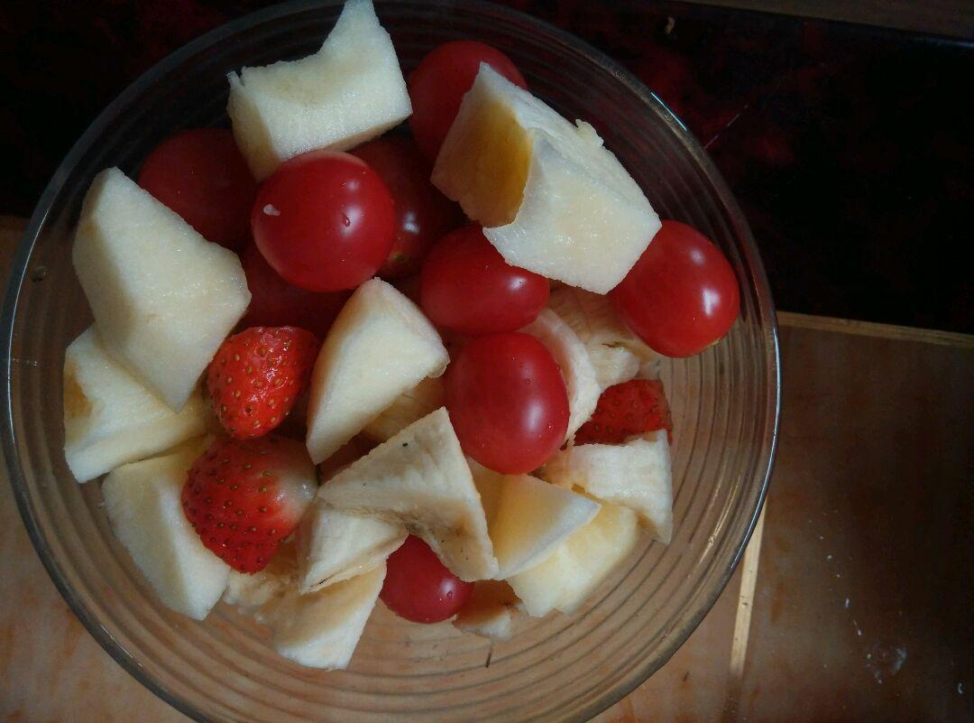 水果沙拉的做法步骤