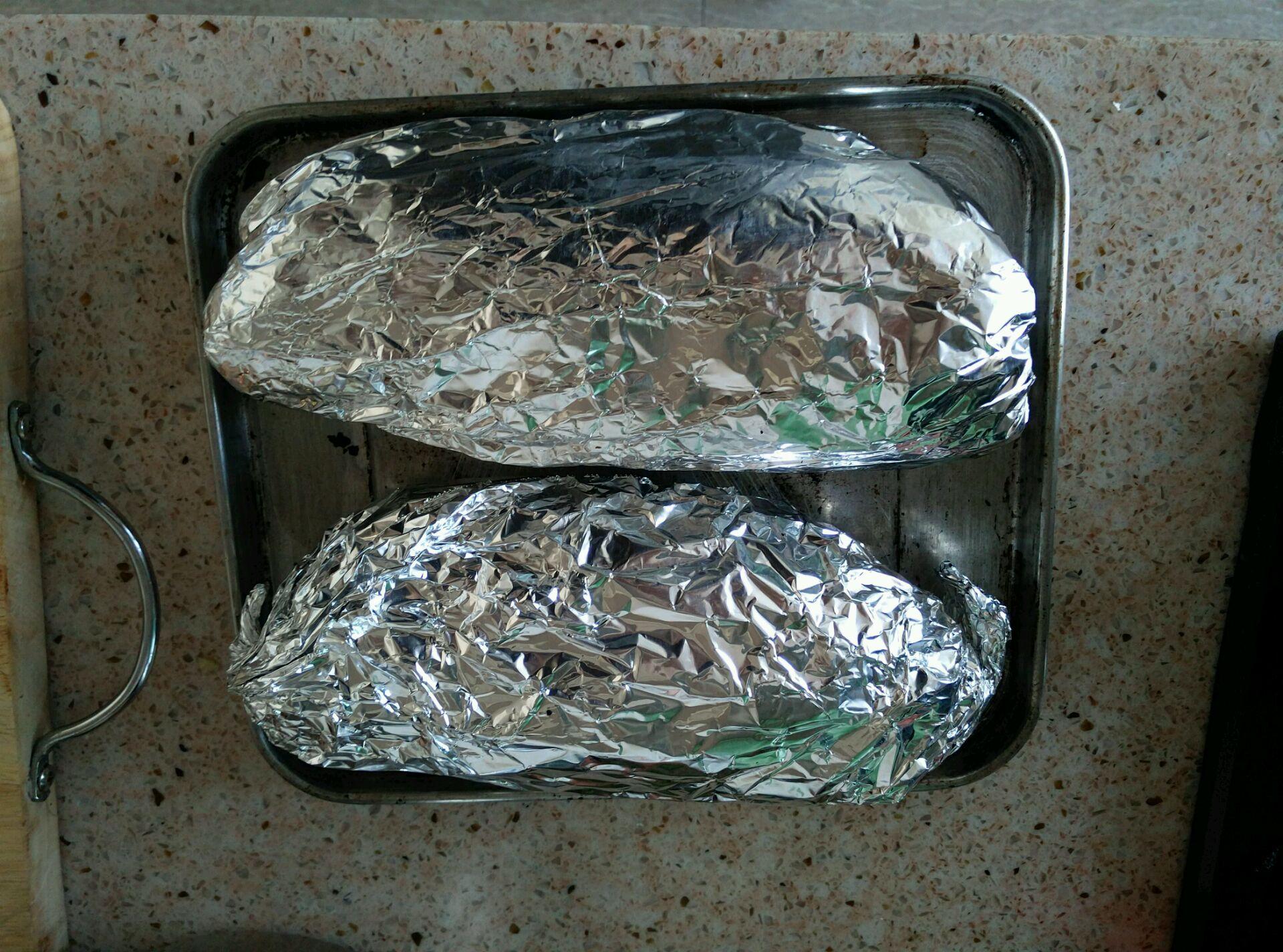 锡箔烤羊腱的做法图解4