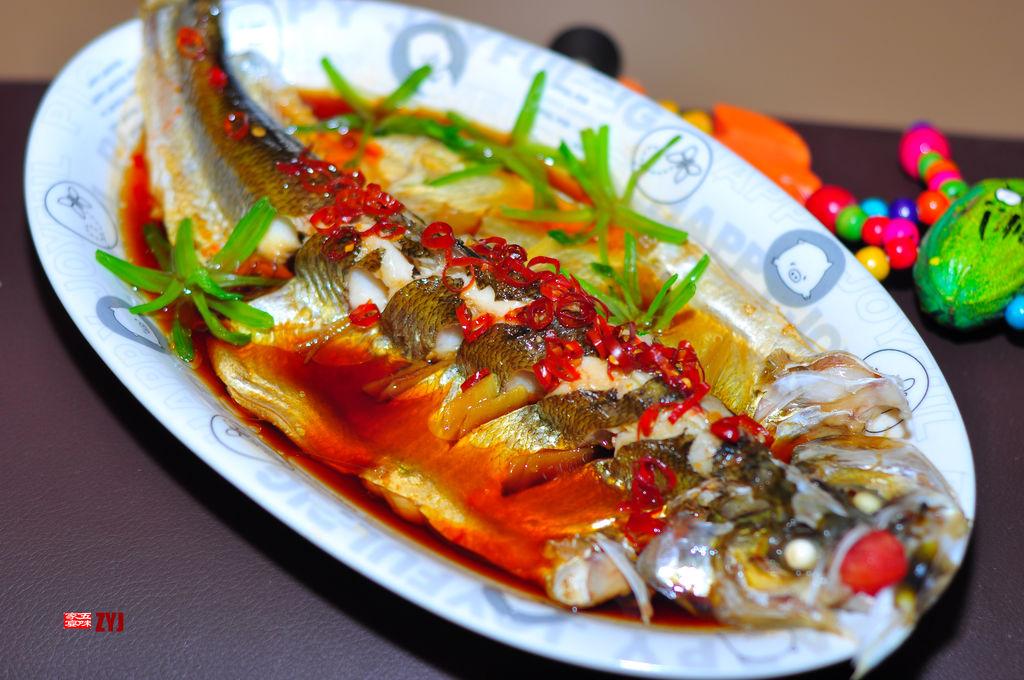 清蒸白水鱼的做法图解3