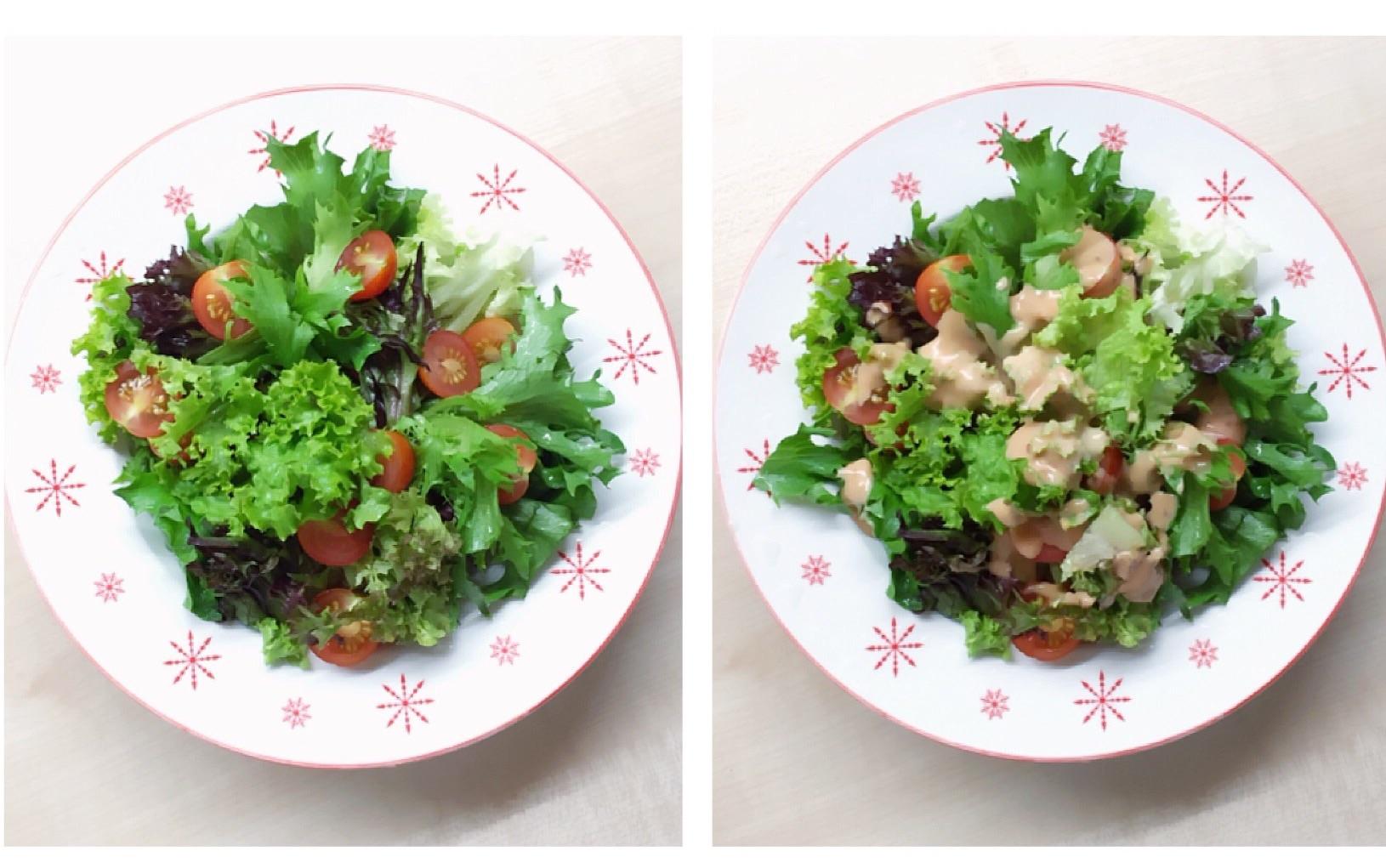 蔬菜沙拉#丘比沙拉汁#的做法步骤