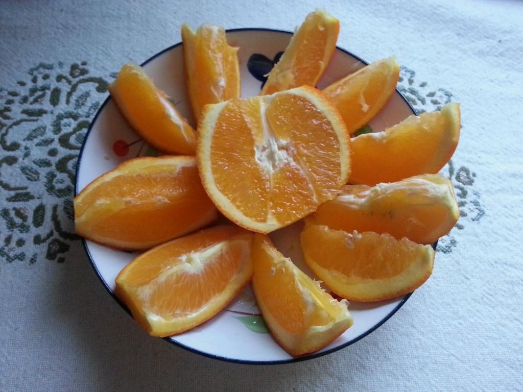 橙子果酱的做法步骤