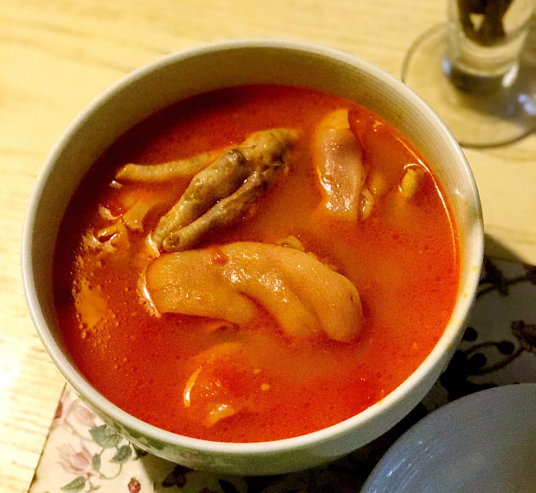 番茄猪脚汤