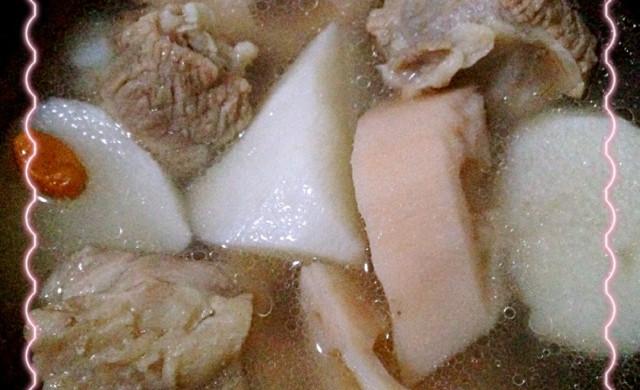 莲藕排骨炖山药信v莲藕微幼儿园食谱图片