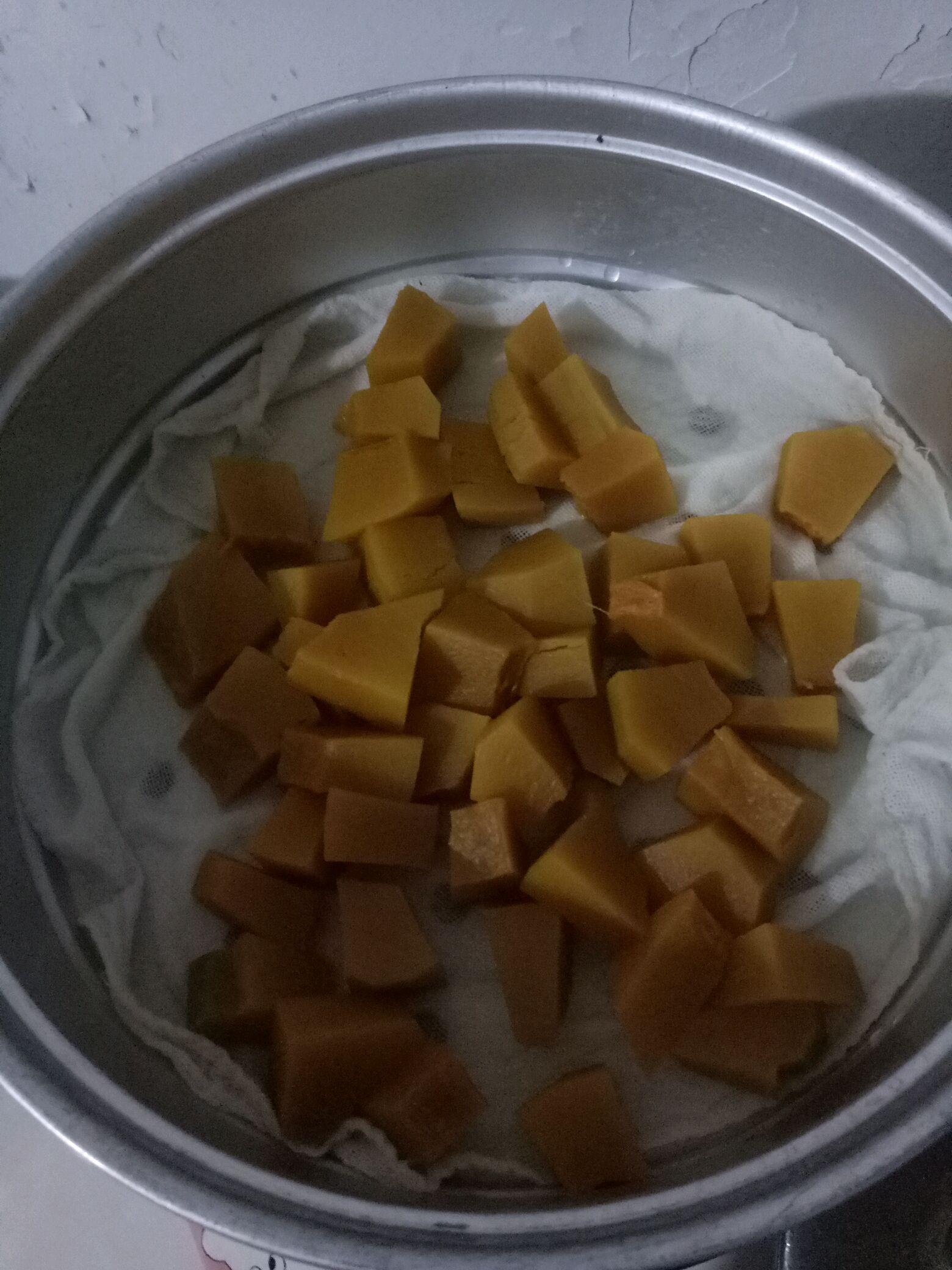 南瓜月饼的做法图解1