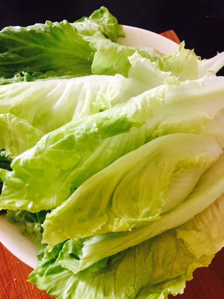 蒜泥生菜的做法步骤
