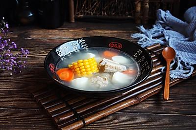 #秋天怎么吃# 排骨山药汤(健脾养胃)