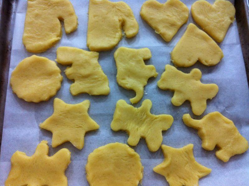 萌萌的动物小饼干的做法图解10