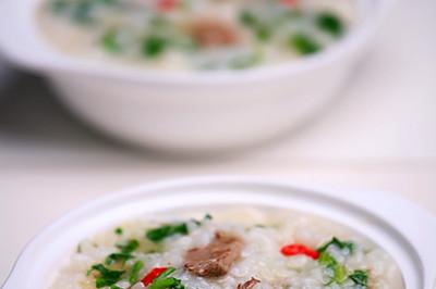 枸杞猪肝菠菜粥
