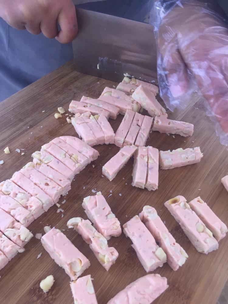 经典甜品——纯手工制作的芒果牛轧糖&蔓越莓牛轧糖的做法图解11
